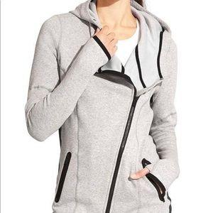Athleta cozy karma asymmetrical hoodie